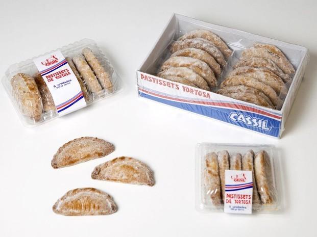 Pastissets de Tortosa. Varias presentaciones
