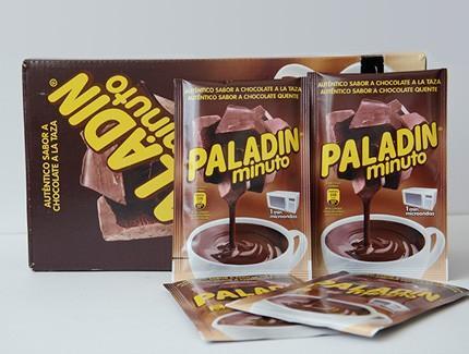 Chocolate a la Taza.Cajas de 40 sobres de 30 gramos cada uno