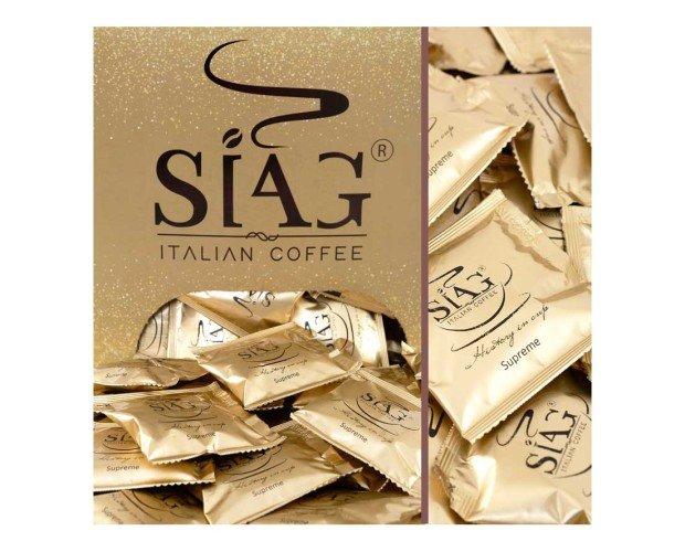 Café supreme. Auténtico café italiano