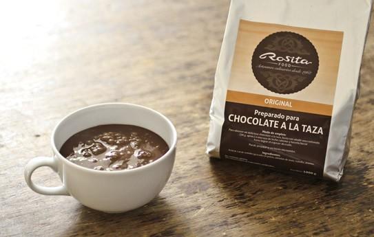 Chocolate a la Taza.Sin gluten