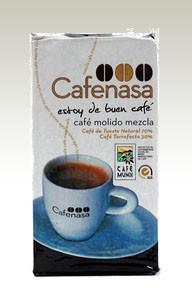 Café Molido.70% Tueste Natural + 30% Torrefacto, 250 gr