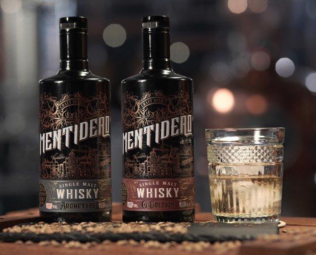 Whisky Mentidero. Mentidero Whisky es una edición limitada de whisky 100% craft. SINGLE MALT.