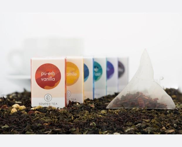 Diversidad de té e infusiones. Gran variedad de sabores