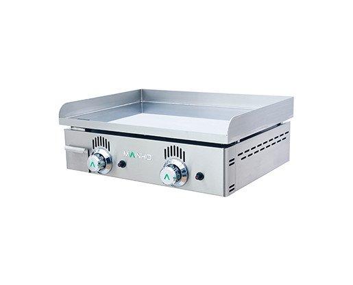 Planchas industriales. Las planchas de hostelería acostumbran a ser imprescindibles en cualquier cocina, ya que permiten cocinar sin aceites ni grasas.