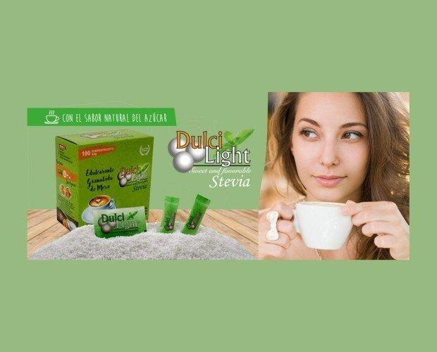 Dulcilight Stevia. Edultorante granulado de mesa
