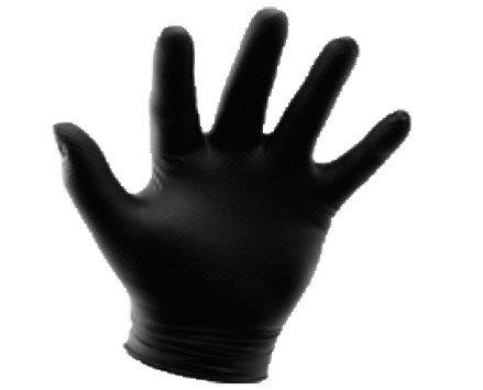 Desechables de Limpieza. Guantes Desechables. Guantes de nitrilo sin polvo para ambas manos. Ligeros con superficie microtexturada. Cumple con los requisitos de la Directiva Europea 2016/425/UE. Marcaje CE.Caja de 100.