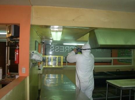 Desinsectación. Fumigación y Control de plagas