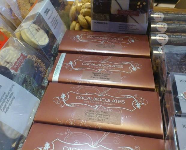 Chocolate artesanal. Seleccionado de origen