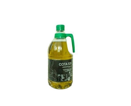 Aceite de oliva 2L. Las olivas utilizadas son de alta calidad