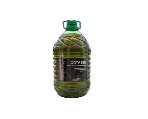 Aceite de oliva 5L. Elaborados y envasados solamente por medios mecánicos