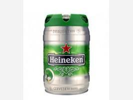 Barril de cerveza Heineken
