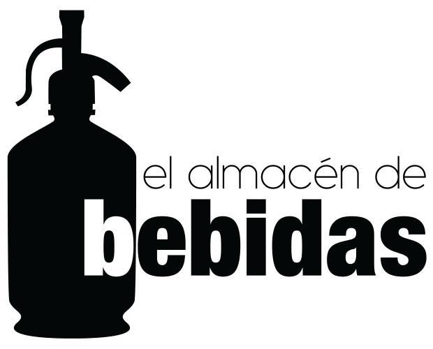 El Almacen de Bebidas. Logo en negro
