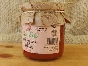 Mermelada artesana de tomate. Envase de 250ml