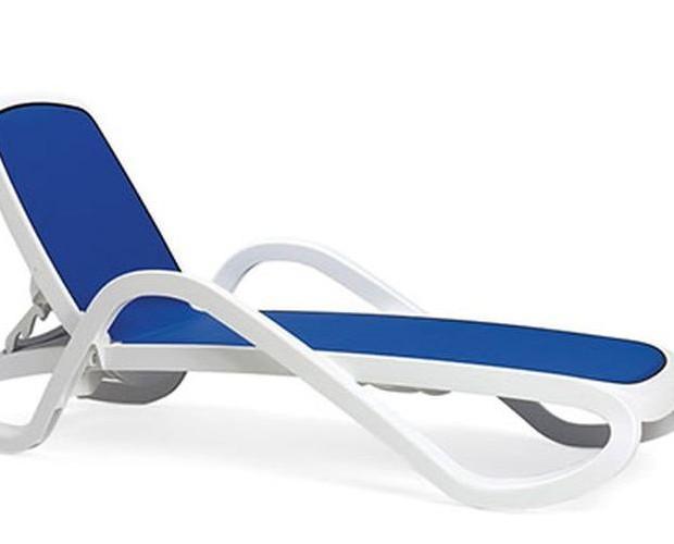 Tumbona Alfa. Tumbona para hostelería de diseño italiano Nardi.
