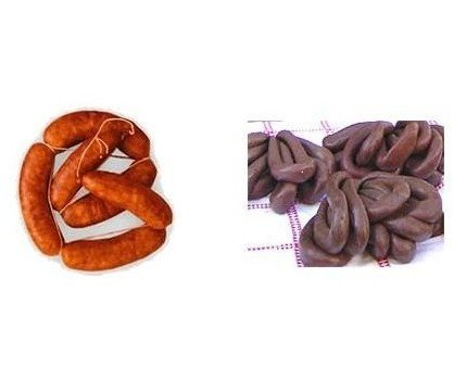 Chorizos y morcillas. Elaborados con productos nobles y de calidad