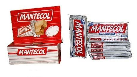 Mantecol. Barritas y tabletas