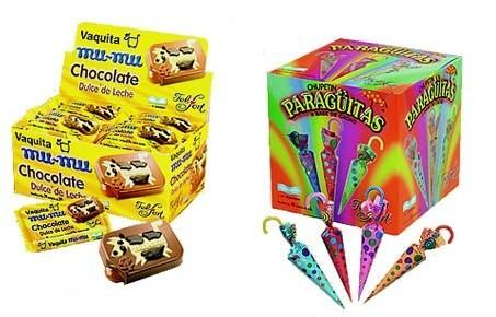Chocolates. Bocaditos, chupetines y bombones