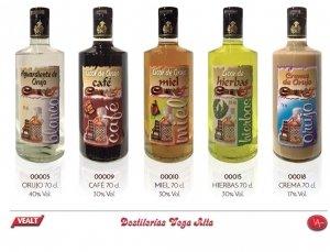 20% de descuento comprando Orujos y Cremas de Orujo