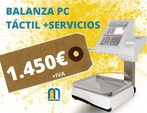 BALANZA PC TÁCTIL ANTES 2.100 AHORA 1.450€