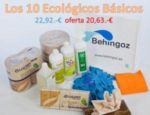 Lote de limpieza ecológica, antes 22,92€, ahora 20,63€