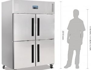 Envío gratis comprando armarios frigoríficos con dos puertas