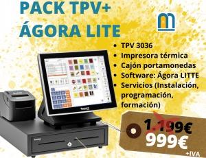 PACK TPV+ÁGORA LITE antes 1.199 AHORA 999