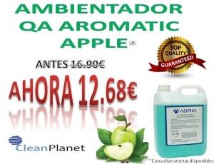 25% de dto. comprando ambientador Aromatic Apple 5L.