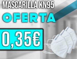 30% de descuento comprando mascarilla KN95