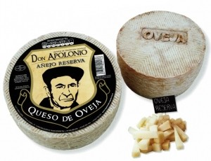 5% de dto. comprando queso Don Apolonio oveja puro, 13.90€